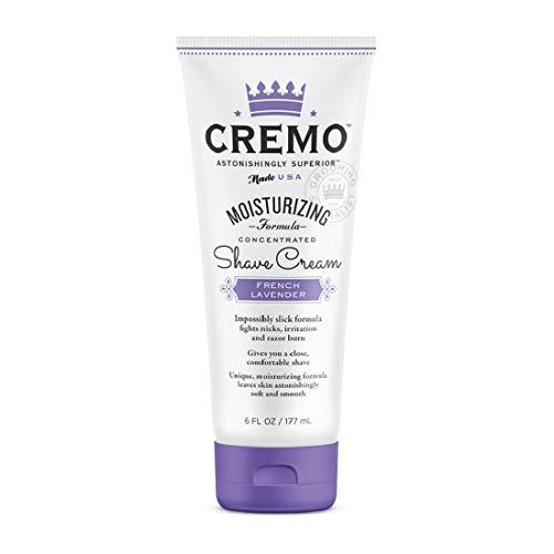 Cremo French Lavender Moisturizing Shave Cream,...