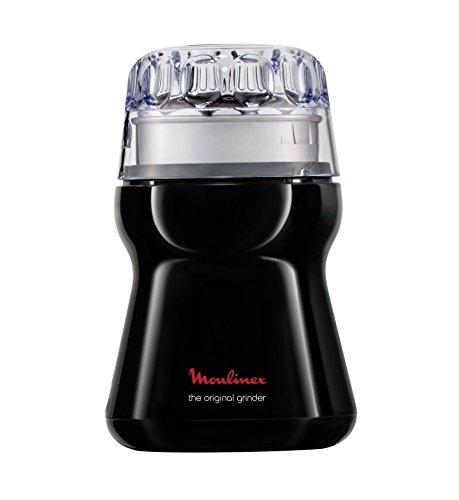 Moulinex AR1108 Macinacaff, 180 W, Acciaio Inossidabile, Nero