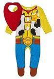 Disney Ensemble cadeau pour bébés garçons avec grenouillère motif Shérif Woody de ToyStory4 et bavoir bandana -  - 9 mois