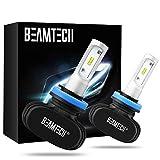 BEAMTECH H11 LED Bulb, 50W...