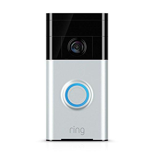 Certified Refurbished Ring Video Doorbell Satin Nickel