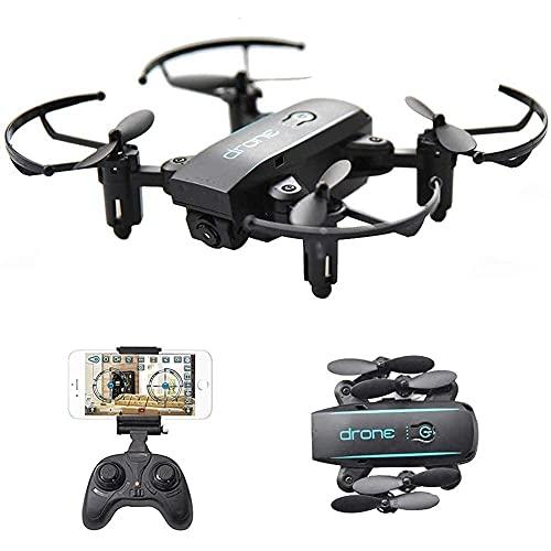 Accessori giornalieri Drone 4CH 6 Axis Gyro Mini Drone WiFi FPV Drone con fotocamera da 0.3MP Quadcopter RC pieghevole con altitudine 3D Flip Modalit senza testa
