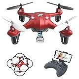 Giocattoli per Bambini Mini Drone con Telecamera FPV WiFi...