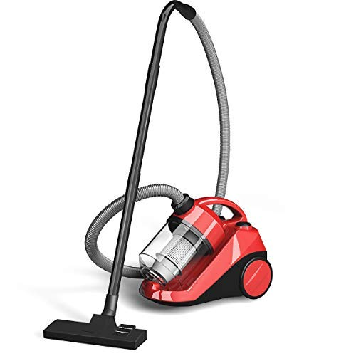 COSTWAY Bagless Canister Vacuum Cleaner