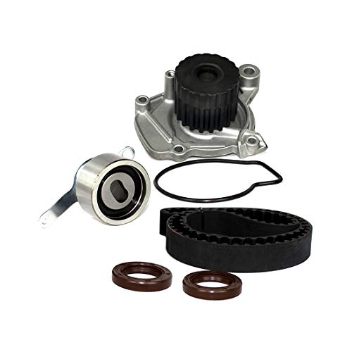 DNJ TBK297WP Timing Belt Kit with Water Pump/For 1996-2000 / Honda/Civic, Civic del Sol / 1.6L / SOHC / L4 / 16V / 1590cc, 97cid / D16Y5, D16Y7, D16Y8