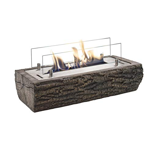 Xaralyn - Woody bioethanol table fireplace - no chimney required.