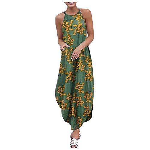 N-B Vestido Mujer 2021 Casual Talla Grande Primavera Verano
