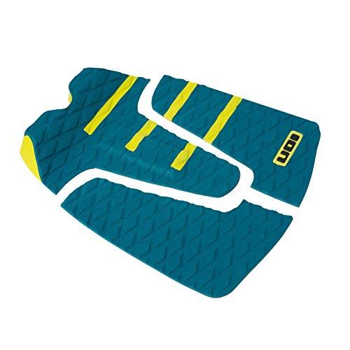 ION Footpad Deck Grip 3-tlg Petrol/Gelb Surfboard Wellenreiter Kiteboard Pad