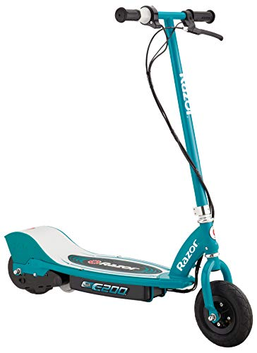 Razor E200 Electric Scooter - 8' Air-Filled Tires, 200-Watt Motor, Up to 12 mph and...