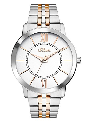 s.Oliver Time Damen-Armbanduhr SO-3351-MQ
