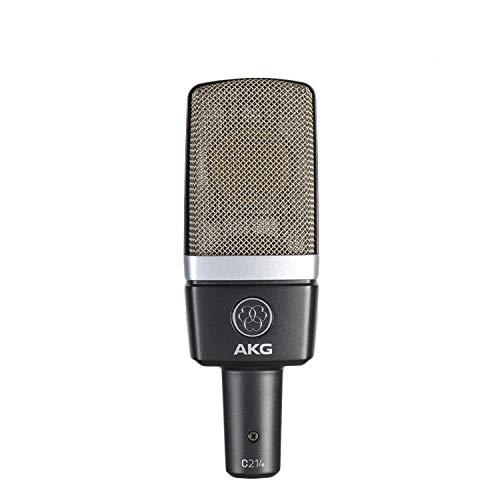 AKG C214 Cardioid Condenser Microphones (Grey)
