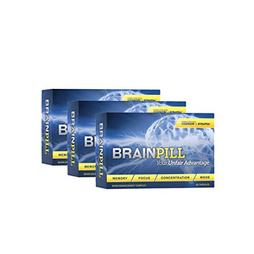 Brain Pill with Cognizin and Synapsa Makes a Powerful Brain...