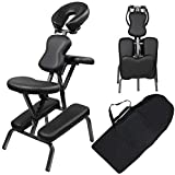 Flex HQ Portable Folding Light Weight Therapy Massage Spa Tattoo Adjustable Chair with Carrying Bag