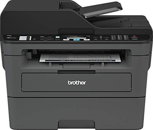 Brother MFC-L2710DW Imprimante Multifonction 4 en 1 Laser - Monochrome - A4 - Impression Recto-verso, Numérisation, Copie, Télécopie - Airprint