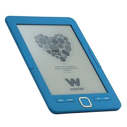 Woxter E-Book Scriba 195 Blue- Lector de Libros electrónicos 6'...