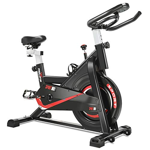 RELIFE REBUILD YOUR LIFE Exercise Bike Indoor Cycling Bike...