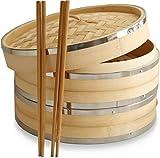 10 Inch Premium Organic Bamboo...