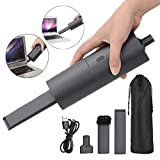 Handheld Vacuum Cordless Vacuum Cleaner - Upgraded Version - Vacuum Cleaner, Blower Cleaner Dual-Purpose, Rechargeable Portable Handheld Mini Vacuum, Easy to Clean Keyboard, Computer, Office Desk