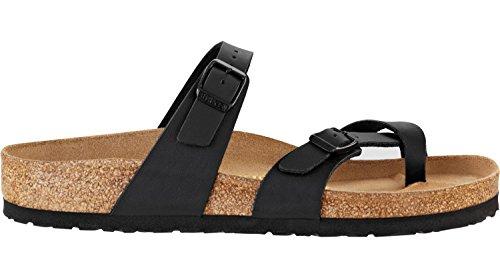 Birkenstock Schuhe Mayari Birko-Flor Normal Black (071791) 36 Schwarz