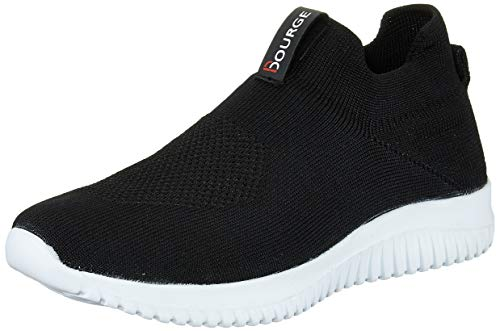 Bourge Women's Micam-115 Black Footwear-7 UK (39 EU) (8 US) (Micam-115-07)