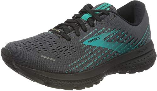 Brooks Womens Ghost 13 GTX Running Shoes - Black/Black/Peacock - 4 UK