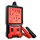 TIKSCIENCE Relay Tester Automotive Kit, 12V Auto Battery Testers Car Diagnostic Battery Checker Tool with Led Lights, Quick Diagnostic Test and Measurement Tools, Code Readers Scan Tools