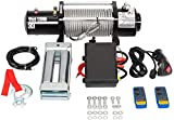 TRIBLE SIX 12000lbs Electric Winch 12V with Wireless Remote Towing fit for Truck SUV ATV Trailer