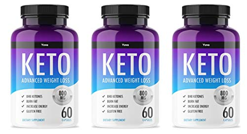 QFL Yuva Keto Diet Pills - Utilize Fat for Energy with Ketosis - Boost Energy & Focus, Manage Cravings, Support Metabolism - Keto BHB Supplement for Women and Men - 90 Day Supply 1