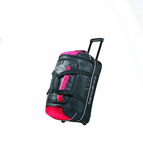 Samsonite Andante Wheeled Rolling Duffel Bag, Black/Grey