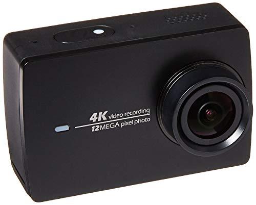 YI, telecamera sportiva 4K e stabilizzatore a mano Gimbal a 3 assi Pan/Tilt/Zoom, con inclusi bastone per selfie, telecomando Bluetooth e custodia da viaggio