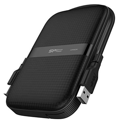 Silicon Power Armor A60 All blk 2TB USB 3.0 2,5 SP020TBPHDA60S3A Marca...