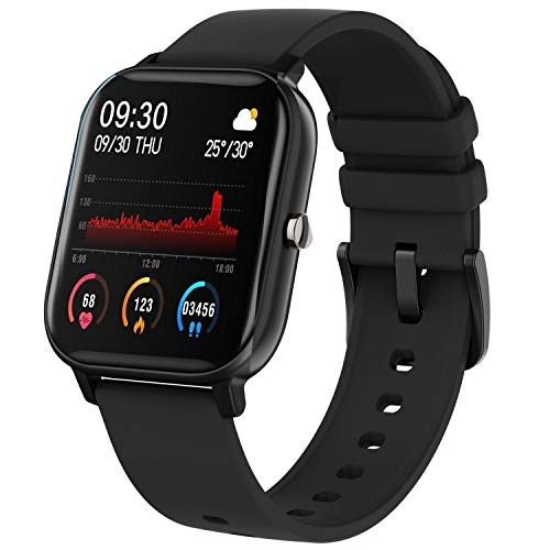 Fire-Boltt Full Touch Smart Watch with SPO2, Heart Rate, BP, Fitness and Sports Tracking - 1'4 inch high Resolution Display