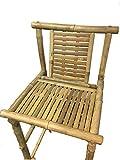 Master Garden Products THB-30 Bamboo Tiki Bar Stool