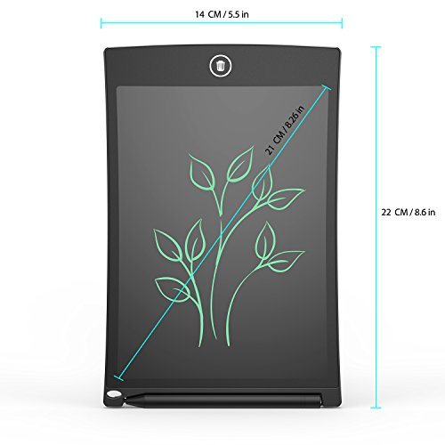 angmno 8.5 inch writing tablet for drawing and learning Office Memo e-writer Pad Message Board...