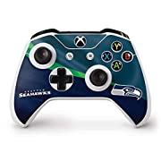 Ultra-Thin, Lightweight Xbox One S Controller Vinyl Decal Protection Officially Licensed NFL Design Industry Leading Vivid Color Vinyl Print Technology on your Seattle Seahawks skin Scratch - Resistant. Built To Last Everday Xbox One S Controller Use...