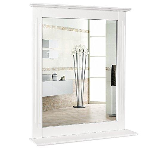 Homfa Espejo de Pared Espejo Baño Espejo Colgante para...