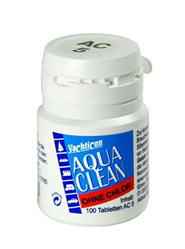 YACHTICON Aqua Clean AC 5 ohne Chlor 100 Tabletten