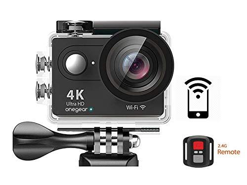 Onegearpro Fun 4K Wi-Fi 12MP con comando a distanza 4K Ultra HD Wi-Fi action sports camera -