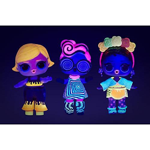 Image 3 - LOL Surprise Poupées de mode à collectionner - Avec 8 surprises, Modes & Accessoires - révélation de lumière noire comprise- Poupée Pailletée Lights