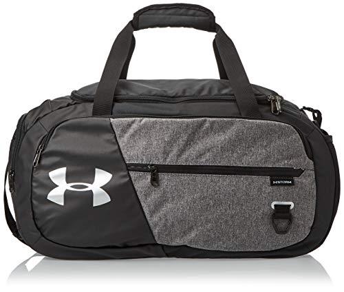 Under Armour UA Undeniable 4.0 Duffle MD geräumige Sporttasche, Wasserabweisende Umhängetasche, Grau, Einheitsgröße