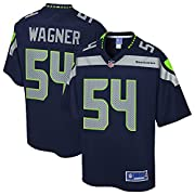 Engineered and constructed to replicate Bobby Wagner's game day Pro-Cut jersey. Sizing Tip: Product runs true to size. For a looser fit, we recommend ordering one size larger than you normally wear. Printed Seattle Seahawks wordmarks (where applicabl...