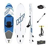 Bestway Hydro-Force Oceana Stand Up Paddleboard Set Unisex-Adult, Blanc/Bleu, 12 cm Thick