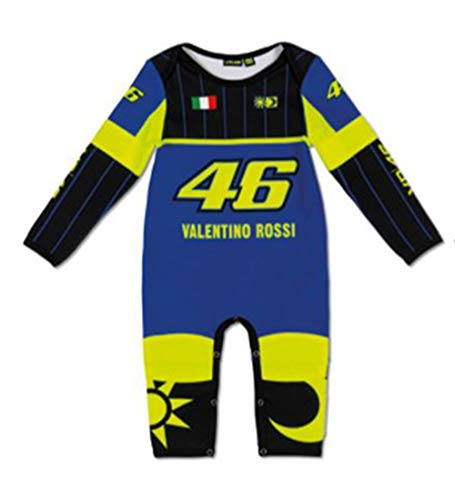 Valentino Rossi VRKOA363409001, Tutina Replica Bambino Unisex, Blu Royal, 12 Mesi