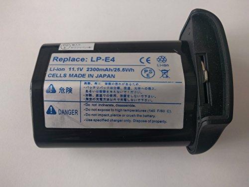 【ロワジャパン社名明記のPSEマーク付】【日本セル】CANON / キヤノン EOS 1Ds Mark IV EOS-1D Mark III EOS-1Ds Mark III の LP-E4 互換 バッテリー