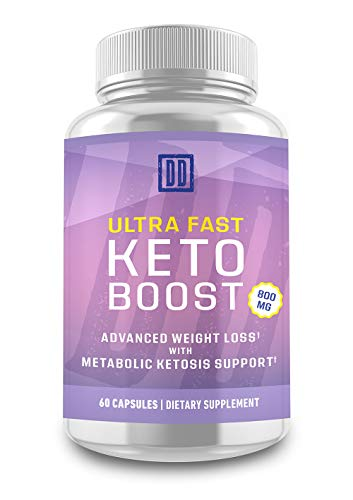 Ultra Fast Keto Boost - Keto Booster- Double Dragon Organics (60 Caps / 800MG) 2