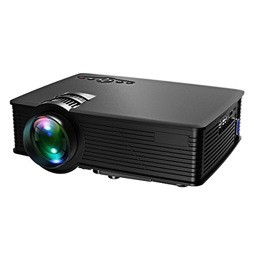 Victsing LCD LED Multimedia Projector Review - The Best Compact Projector