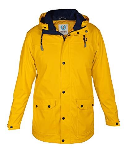 MADSea Herren Regenjacke Friesennerz Gelb, Farbe:gelb, Größe:M
