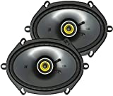 Kicker 46CSC684 Car Audio 6x8 5x7 Coaxial Full Range Stereo Speakers CSC68