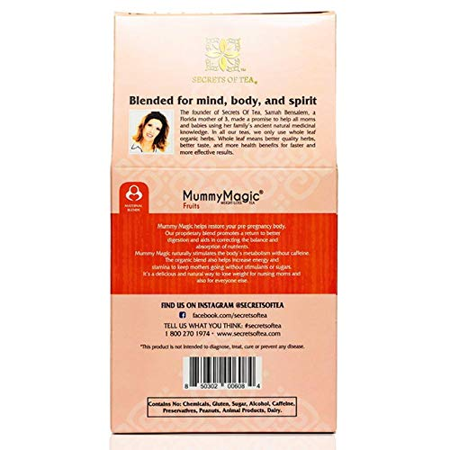 Mummy Magic Weight Loss Tea - Fruit Tea with 40 Servings - Energy Tea Naturally Increase Digestion.Postpartum Tea for Metabolism & Digestion. 2