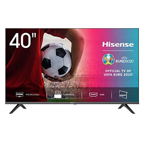 Hisense 40AE5000F TV LED FULL HD 40', Bezelless, USB Media Player, Tuner DVB-T2/S2 HEVC Main10...